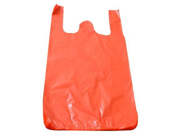 红色背心袋