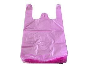 粉红色背心袋